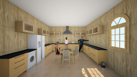 Bucatarie 18 - Rustic - Kitchen  - by Ionut Corbu