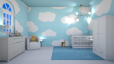 Baby boy room - Vintage - Kids room  - by Agamanta