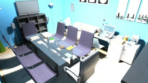 Design Kantor FI DFS 2014 - Minimal - Office  - by Anggara Wirawan