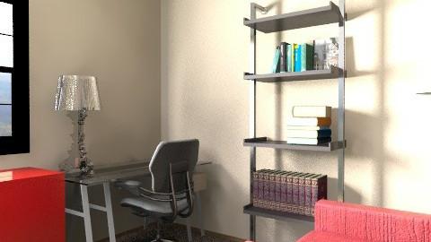 Sara Tucker Office - Modern - Office  - by Barry Snowbarger