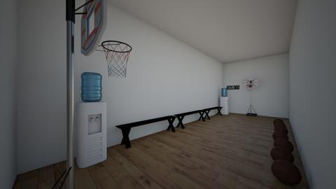 Basketball room - by trinitilovely