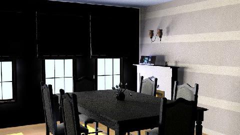 october skyyyyyyyy - Dining Room  - by jdillon