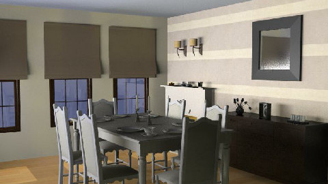 october skyyyyyyyyyyyyxxklllll - Dining Room  - by jdillon