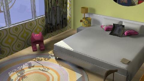 2 Retro - Retro - Bedroom  - by Alicat76