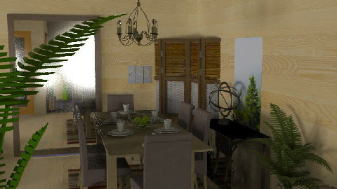 Country Dining - Country - by PomBom
