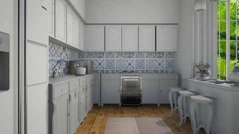 Classic Portuguese  - Classic - Kitchen  - by Valeska Stieg