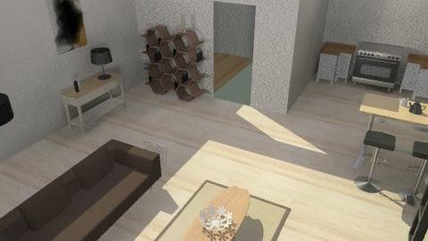 Karen's room 003 - Eclectic - Kitchen  - by Nick_digital