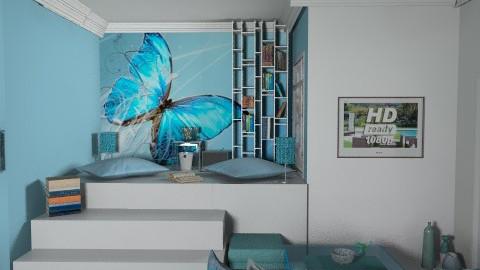 Blue carrel - Glamour - by enik_marton