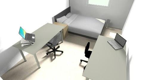 Perkins Green Room  - Minimal - Bedroom - by sbs4261