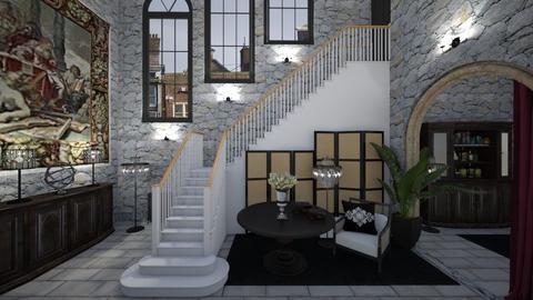 Matilda's Impressive Staircase - by Matilda de Dappere