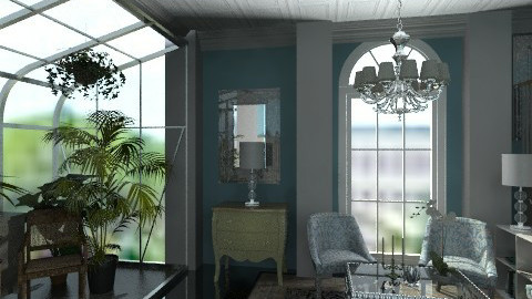Upstairs - Classic - Living room - by PomBom