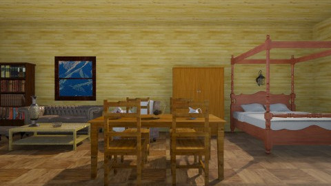 rustic house - Rustic - by tinin