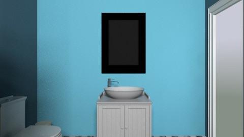 B p - Minimal - Bathroom  - by pata