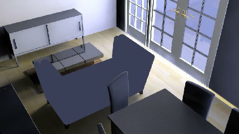 Backroom4 - Dining Room  - by WillieM