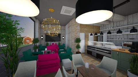 Cafe 22 - Modern - Office  - by Nikos Tsokos