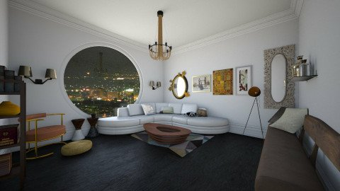 LUX - Glamour - Living room  - by Karim Mahfouz