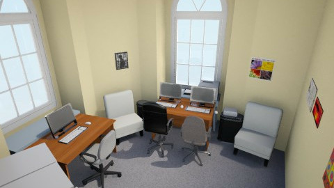 room45 v2 - Eclectic - Office  - by Declan Walsh