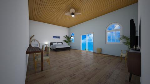 Palm Beach - Bedroom  - by Hamzah luvs cats