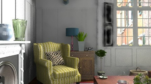 Away from Civilisation - Vintage - Living room - by Carliam