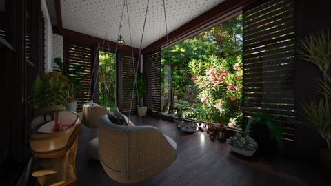 Cozy - Garden  - by Maria Helena_215