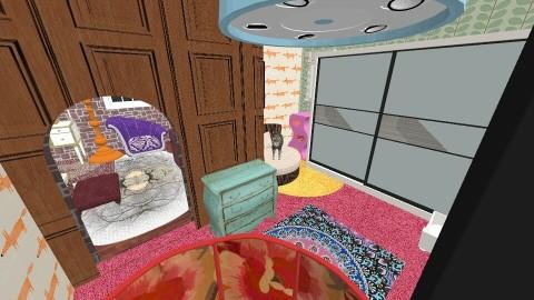 ADIIDA - Retro - Bedroom  - by iksiwaz
