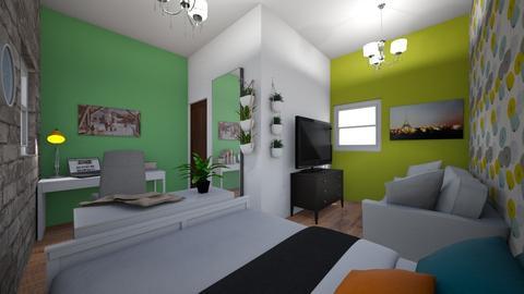 Teenroom - Bedroom - by roos_kusje
