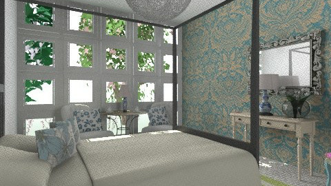 The Guestroom II - Eclectic - Bedroom  - by hunny