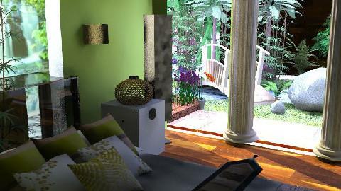 Bali - garden view  - Bedroom  - by ovchicha