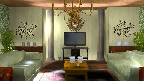 Classic Living Room - Classic - Living room  - by inas soliman