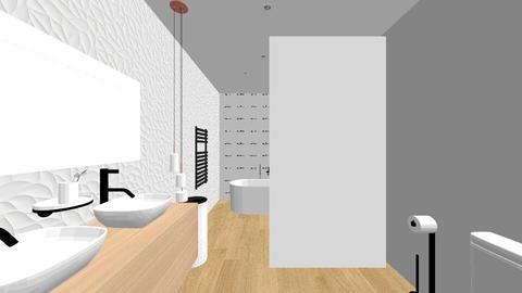 MAXIMO - Minimal - Bathroom  - by crastipm