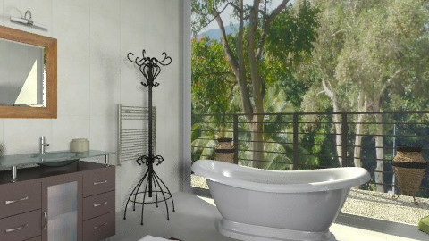 The close nature_2 - Modern - Bathroom  - by milyca8