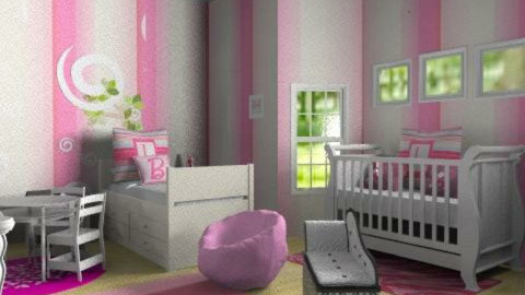baby girl - Glamour - Kids room  - by Lizette Najera