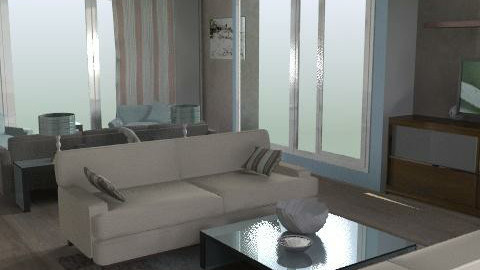 Mod living - Classic - Living room  - by shelleycanuck