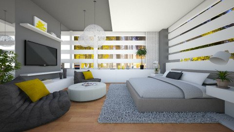 Fresh BR - Modern - Bedroom - by channing4