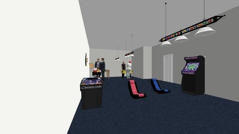 game room - Country - Living room  - by Ebony the designing queen