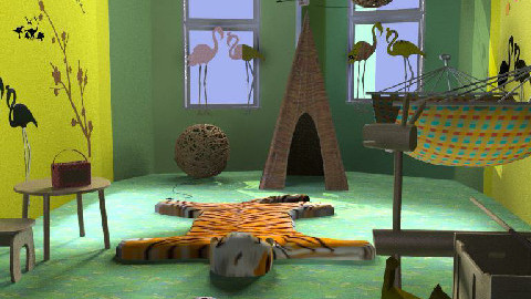 JUNGLE - Kids room  - by manar