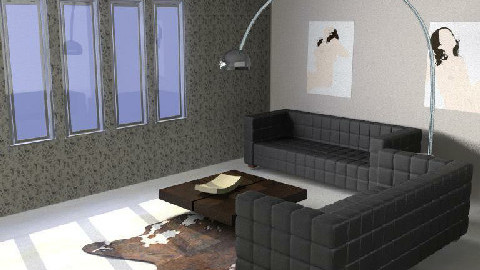 Grey + - Living room - by magicboy18