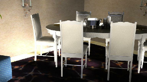 My Room - Dining Room  - by MagnifiquE