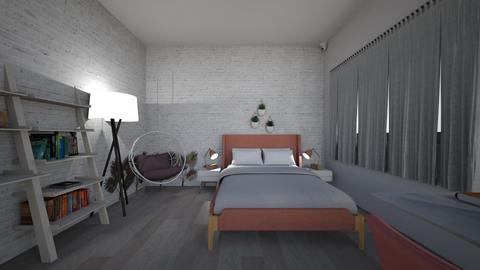 house with bestie - Bedroom  - by lupeeuh
