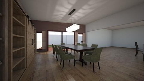 Casa de Campo 2 - Classic - Dining room  - by Humberto Canessa