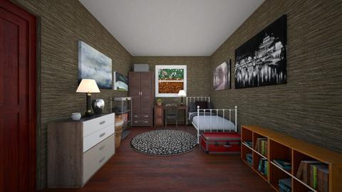 WIP - Bedroom - by scourgethekid