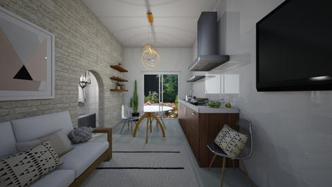 Tiny House Front Room - Living room - by belly bel bel