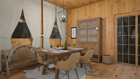 Cabin dining - by rebsrebsmmg