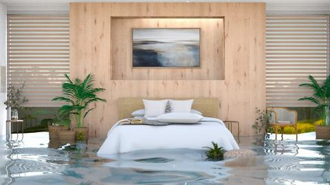 Flooded Feng Shui Bedroom - by itsbinflooded