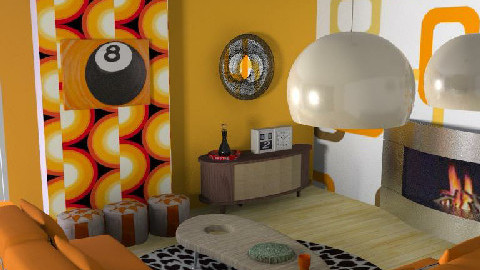 Moira's retro Lounge - Retro - Living room  - by laptoplil