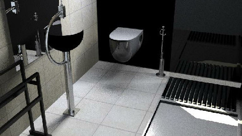 Small space for a b+t - Bathroom - by magicboy18