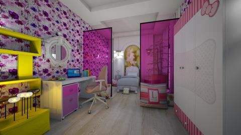 Laoura s _Girl y _BedRoom - Eclectic - Kids room  - by Nikos Tsokos