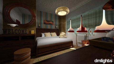 wooden b n b - Bedroom - by DMLights-user-1118154