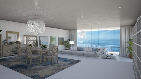 Ocean View  - Modern - Living room  - by Claudia Correia