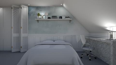 Attic Bedroom - Modern - Bedroom  - by Aristar_bucks